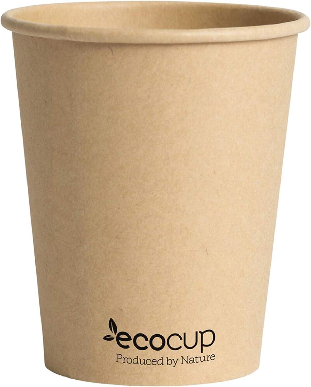 Vasos de Café Desechables, Biodegradables y Compostables. Color ...