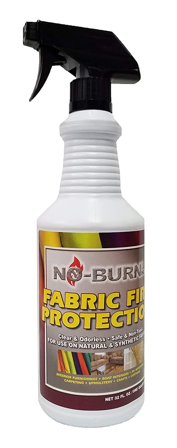 No-Burn Fabric Fire Protection