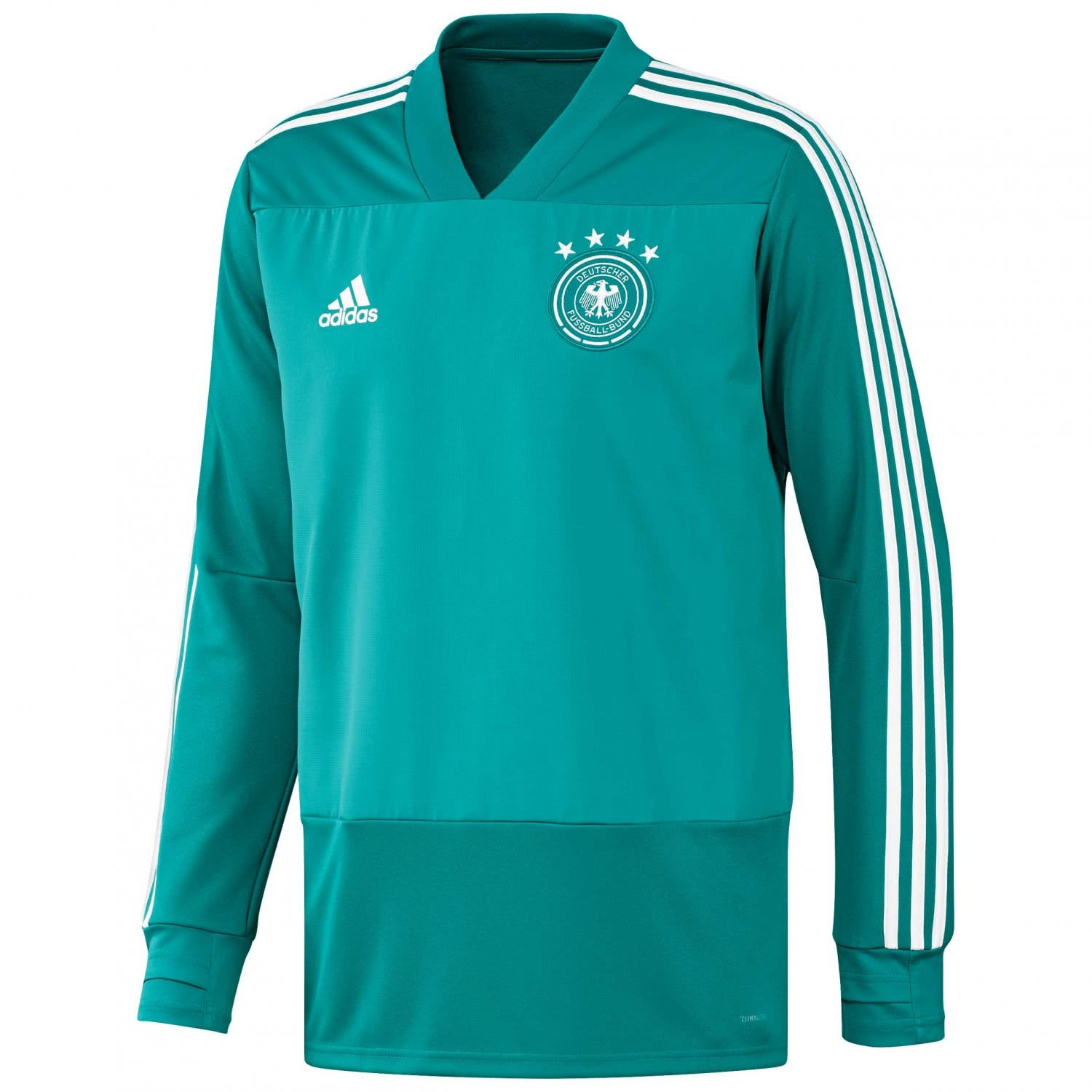 2018-2019 Germany Adidas Training Top (Green) B0779BVBKQGreen XL 44-46\