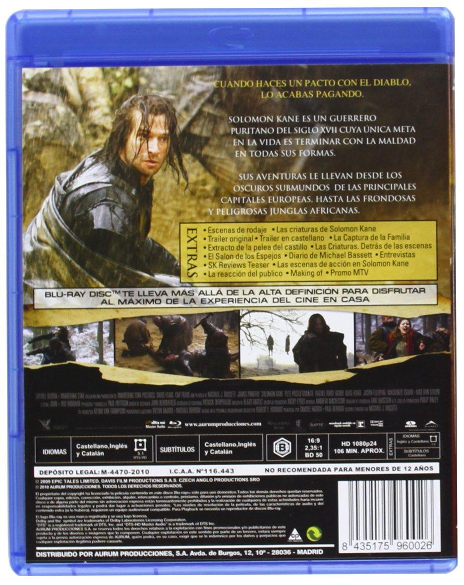 Amazon.com: Solomon Kane (Blu-Ray) (Import Movie) (European Format - Zone B2) (2012) James Purefoy; Max Von Sydow; Pete Po: Movies & TV