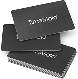 TimeMoto - 125-0603 RF-100 - Set of 25 RFID Proximity Badges for time Clocks