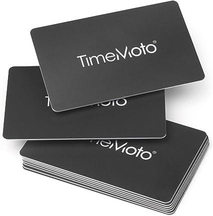 TimeMoto RF-100 - Caja 25 tarjetas RFID para los terminales TimeMoto: Standard: Amazon.es: Oficina y papelería