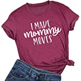 I Make Mommy Moves T Shirt Cute Mom Short Sleeve Letter Printed Casual Tees