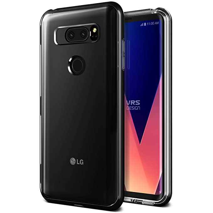 buy popular 6f95f f80ba LG V30 CASE, LG V30+ CASE, LG V30S CASE :: VRS X Lumion :: Transparent  Crystal Thin Cover :: Clear Slim Fit :: Hard Drop Protective Bumper for LG  V30 ...