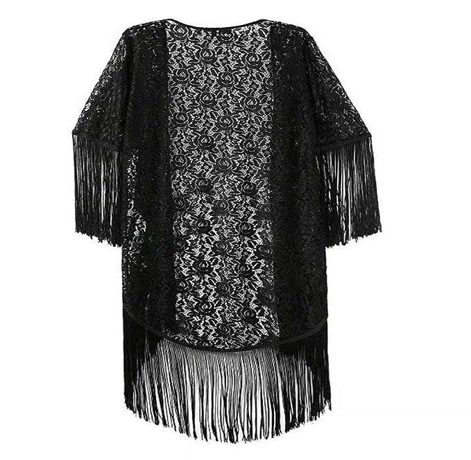 Chaleco De Bolero Largo De Encaje Bolero De Mujer Boda Vestido Retro De Noche Festivo Vestido