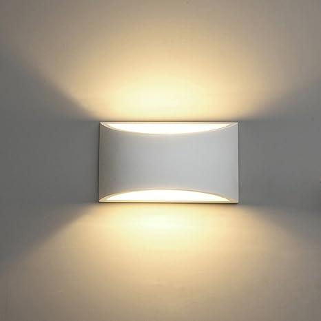 Applique da Parete Interno, 5W Intonaco LED Lampade da Parete ...