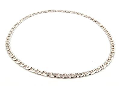 commercialisable plus près de nouvelle collection Chaîne collier ras du cou pour homme en argent 925 ‰ tricot ...