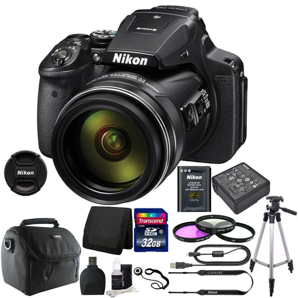 NikonデジタルカメラCoolpix p900 +プレミアムアクセサリーバンドル   B013V8MDDY