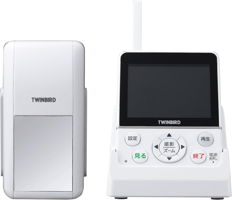 TWINBIRD ワイヤレス・ドアスコープモニター DoNaTa