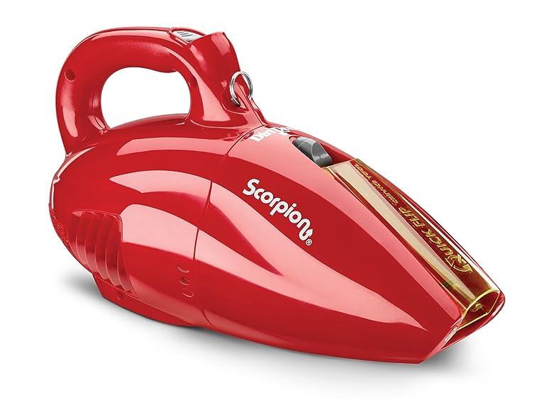 Dirt Devil Scorpion Quick Flip Corded Bagless Handheld Vacuum SD20005RED