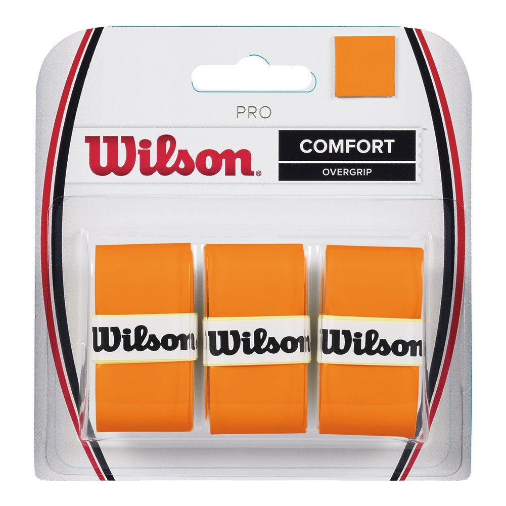 Wilson Pro Burn Overgrip de Tenis, Unisex Adulto, Naranja (Orange), Talla Única WRZ470820