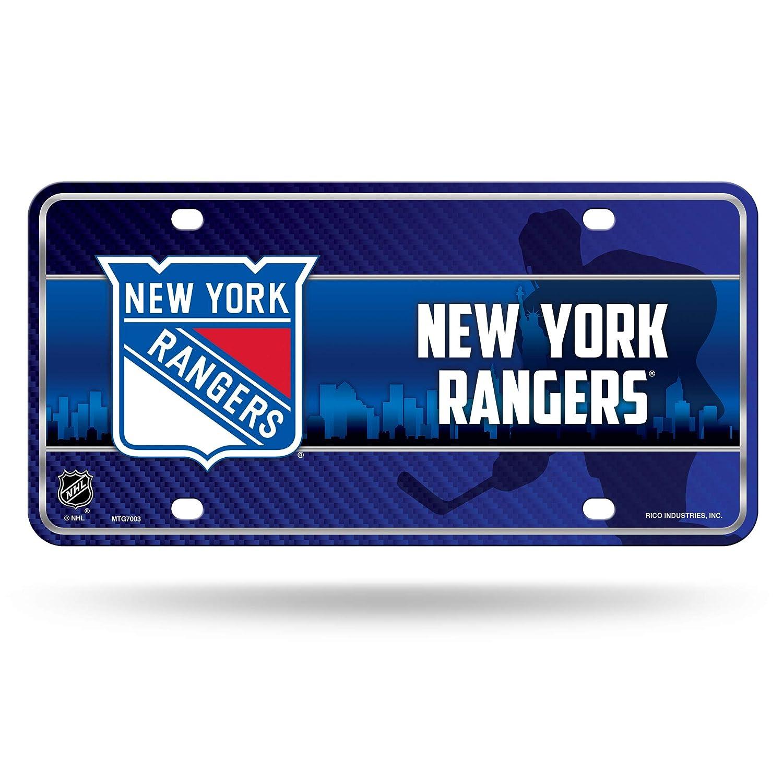 Rico NHL New York Rangers Metal Auto Tag