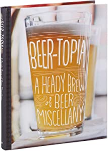 Hallmark Beer-Topia: A Heady Brew of Beer Miscellany Book Gift Books Hobbies & Interests Crafts & Hobbies