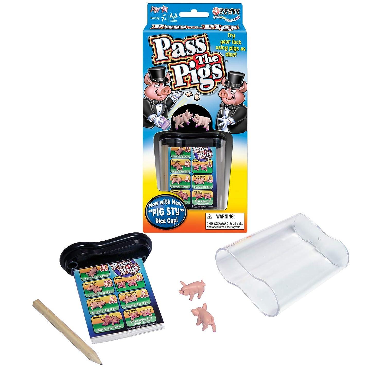B00005JG3Y Winning Moves Games Pass The Pigs 71Yf16rYBXL