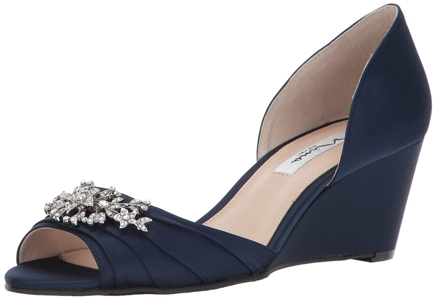Nina Women's Emiko Dress Pump B01MTEJRXZ 8.5 B(M) US|New Navy