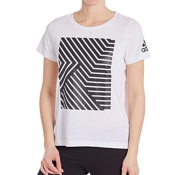 Adidas Camiseta Transpirable, Blanco, XL