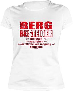 Damen T-Shirt Pilgern Wandern Pilger Pilgerurlaub Damenshirt Jakobsweg Trägertop Weitere Sportarten