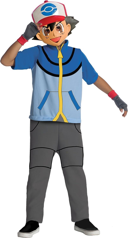 Rubies Disfraz de Ash Pokemon para Niño: Amazon.es: Juguetes y juegos