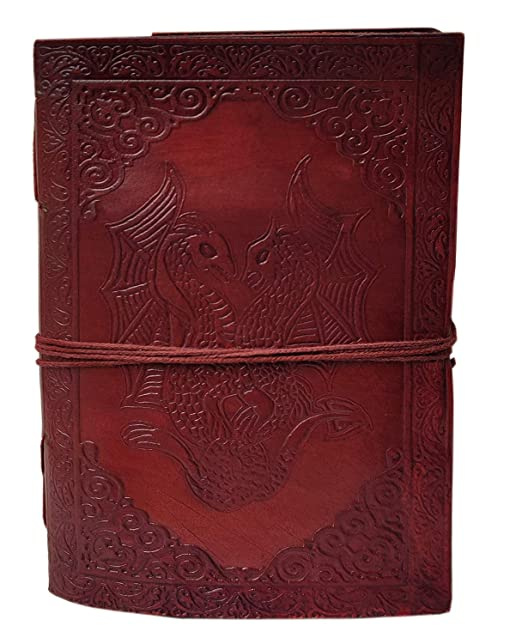 Amazon.com: DOUBLE DRAGON Blank Page BOOK Handcrafted ...