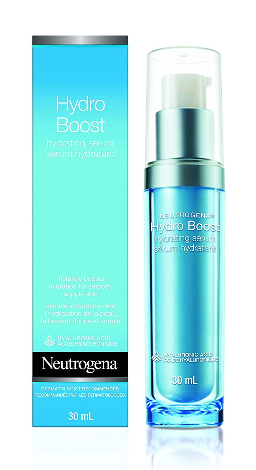 Neutrogena Moisturizer Hydro Boost Serum for Face With Hydrating Hyaluronic Acid, Non-comedogenic and Oil-free, 30ml Johnson & Johnson