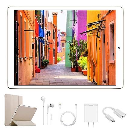 Tablets Android 7.1 DUODUOGO G12 32GB ROM 2GB RAM 4G Tablet 10 Pulgadas HD 1280*800 IPS Quad Core Doble Cámara Dual SIM Batería 8500mAh OTG WiFi GPS ...
