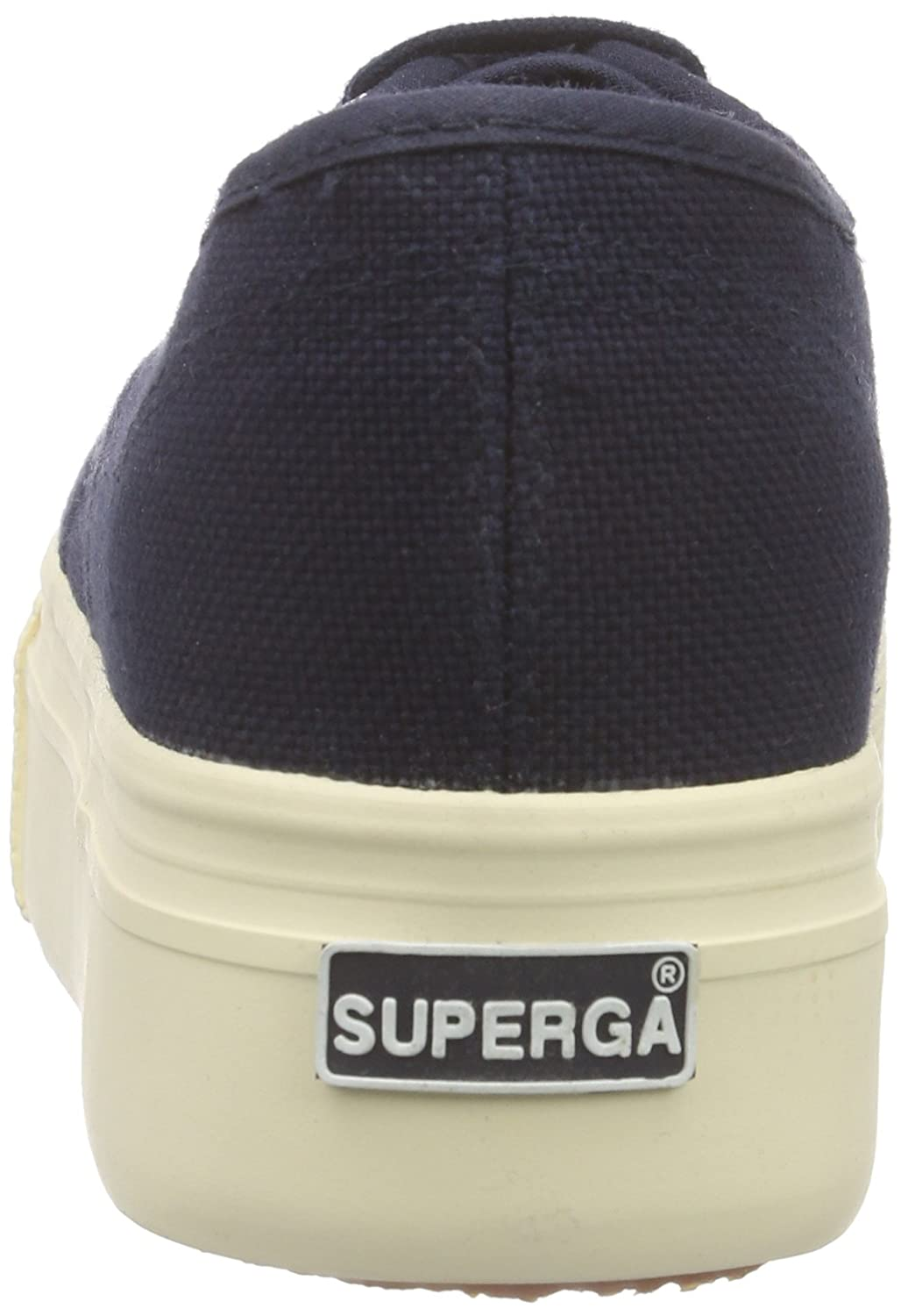 Superga 2790 Linea up and Down Womens Trainers B00H5VOQ70 39.5 M EU|Navy