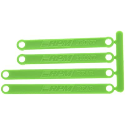 RPM Heavy Duty Camber Links, Green: Toys & Games