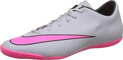 Nike Mercurial Victory V IC Men Indoor Soccer Shoes Black Pink