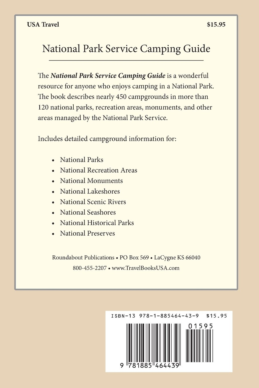 National Park Service Camping Guide, 5th Edition: William C Herow:  9781885464439: Amazon.com: Books