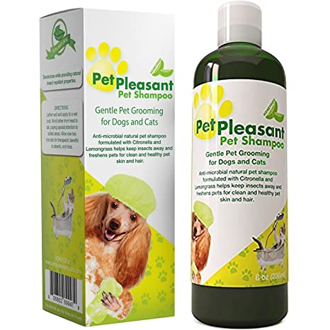 Honeydew Natural Pet Champú para perros cachorros y Cat – Anti Itch Flea & Tick Repelente