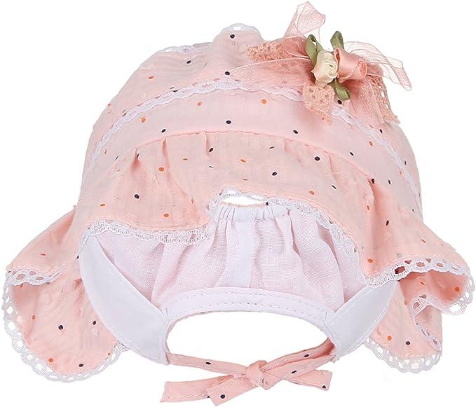 Aiklin Baby Bonnet Satin Princess Court Cap