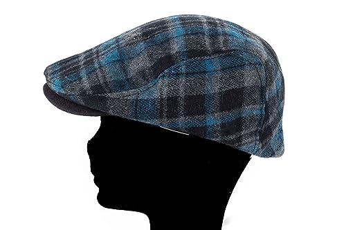 GIANMARCO VENTURI Cappello uomo coppola scozzese con visiera taglia unica  L1516  Amazon.it  Scarpe e borse 2dfff64b0631