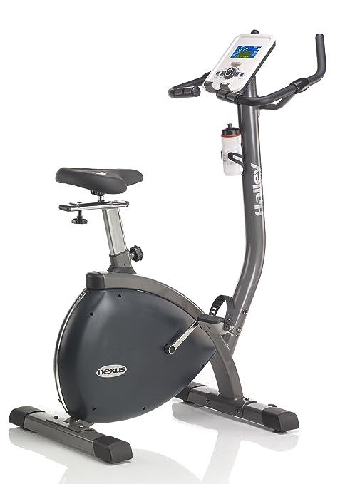 Halley Fitness Bicicleta Estática Nexus Bike Multicolor: Amazon.es ...