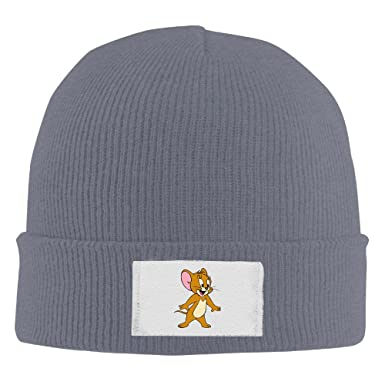 f54b91b7e8c Image Unavailable. Image not available for. Colour  Crochet Tom And Jerry  Funny Fashion Pattern Logo Beanie Hats