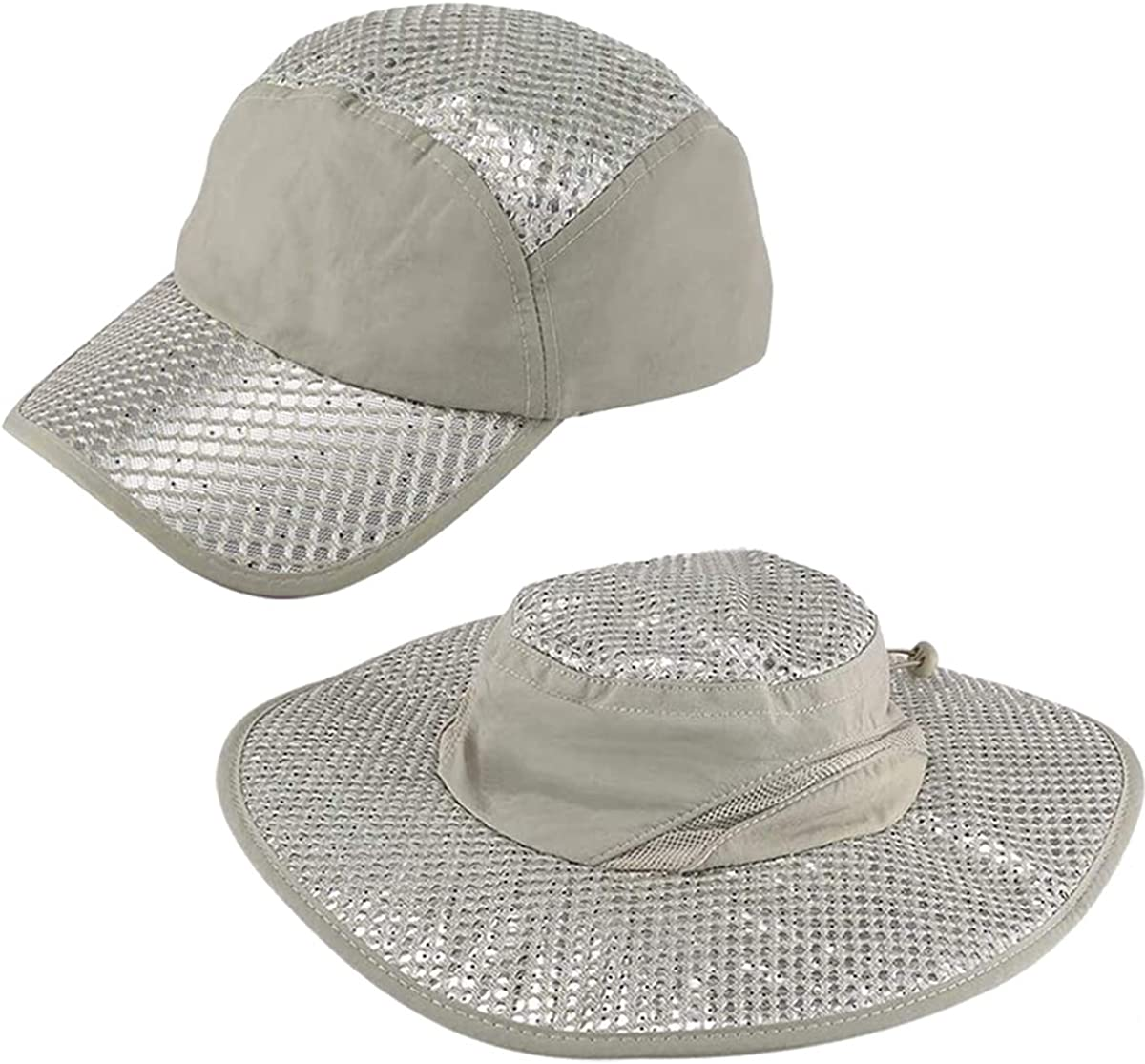 Sunstroke-Prevented Cooling Hat Anti-UV Sunstroke-Prevented Cooling Hat for Hiking Hunting Camping Outdoor