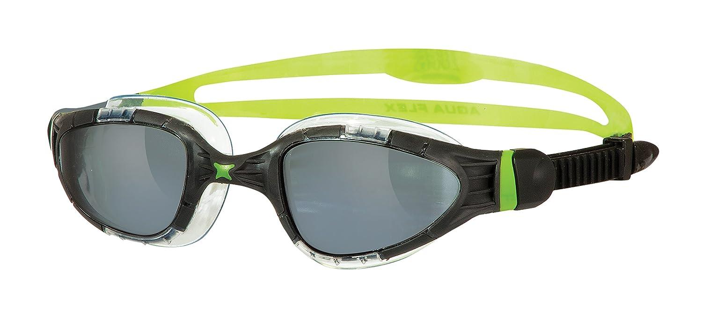 Zoggs Aqua Flex Titanium Gafas de Natación, Hombre, Negro/Verde, Talla Única: Amazon.es: Deportes y aire libre