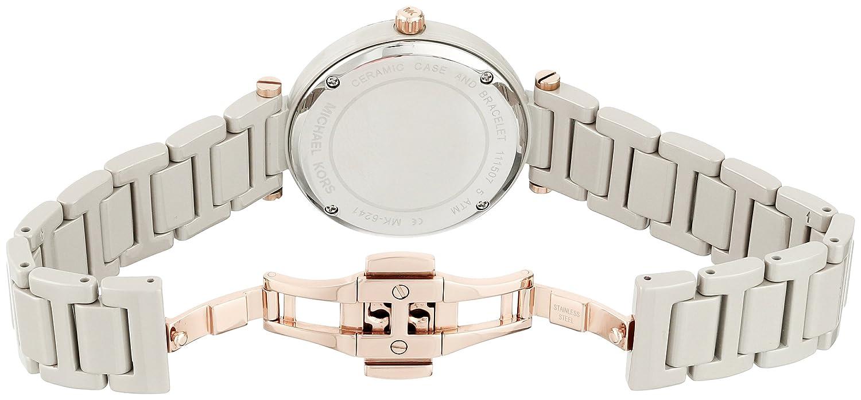 d3d1d142dad0 Amazon.com  Michael Kors Women s Mini Skylar Grey Watch MK6241  Watches