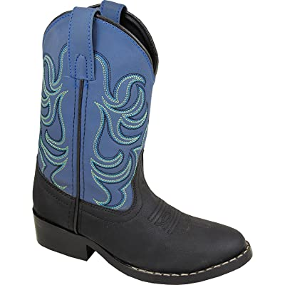 Smoky Mountain Toddler-Boys' Roper Western Boot Round Toe - 3036T: Shoes