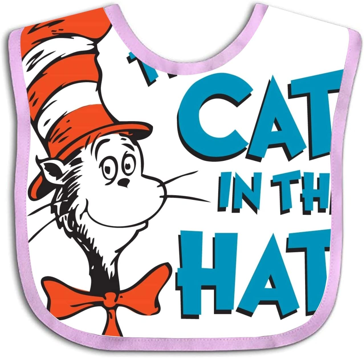 The Cat In The Hat Baby Bibs for Boys Baby Bandana Drool Bibs Drooling and Teething
