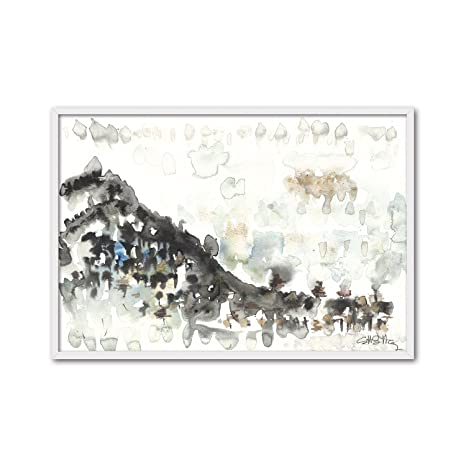 Amazon.com: CUADRIMAN Abstract and Landscapes Table adeje ...