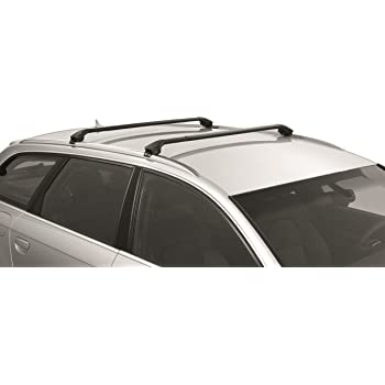 Amazoncom SportRack SR Complete Roof Rack System Black - Acura rsx roof rack