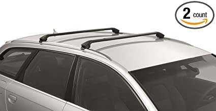 hot sale online 0ee91 4df0d Image Unavailable. Image not available for. Color  Multi-Fit Roof Rack for  Flush Railings Modula Cross Bars ...