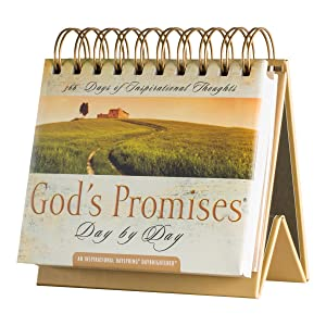 DaySpring Flip Calendar - God's Promises Day by Day - 77872
