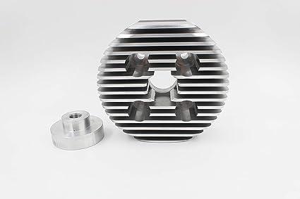 PRO-LINE Racing Head Super CNC Cylinder Head for 2 Stroke 80CC Engine, 7cc