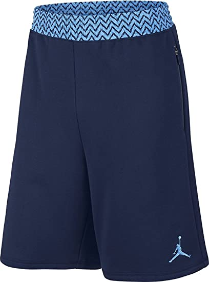 a12f987b5cf9af Amazon.com  Nike mens AJ 12 SHORT 724719-410 S - MIDNIGHT NAVY ...