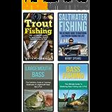 Fishing: 4 In 1 Masterclass: Book 1: Bass Fishing + Book 2: Trout Fishing + Book 3: Saltwater Fishing + Book 4…