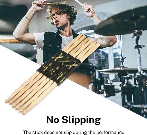 2 Stück Schlagzeug Sticks mit Hammerkopf
