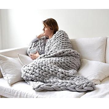 Wawen Handarbeit Stricken Wolle Chunky Riesige Woll Gestrickte Sofa