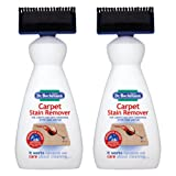 2 X Dr. Beckmann Carpet Stain remover with cleaning applicator/brush -650ml