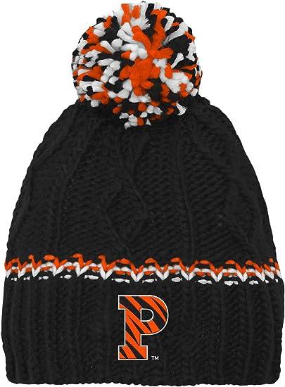 NCAA by Outerstuff NCAA Mississippi Old Miss Rebels Kids Jacquard Tassel Knit Hat w// Pom Dark Navy Kids One Size